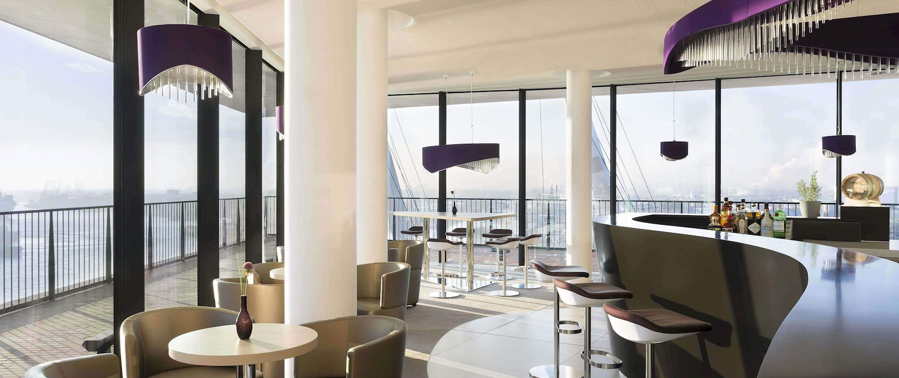 View inside of Bridge Bar